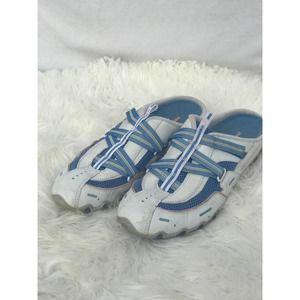 SKECHERS Leather Slip-On Slides-Size 10